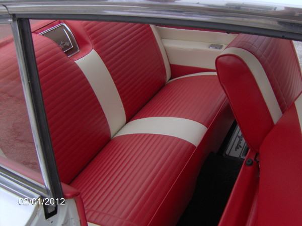 Striped Seats for a Striped Impala