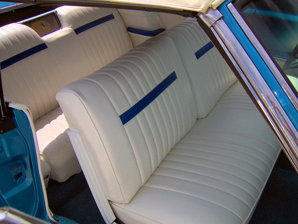 Classic Seat Reupholstery