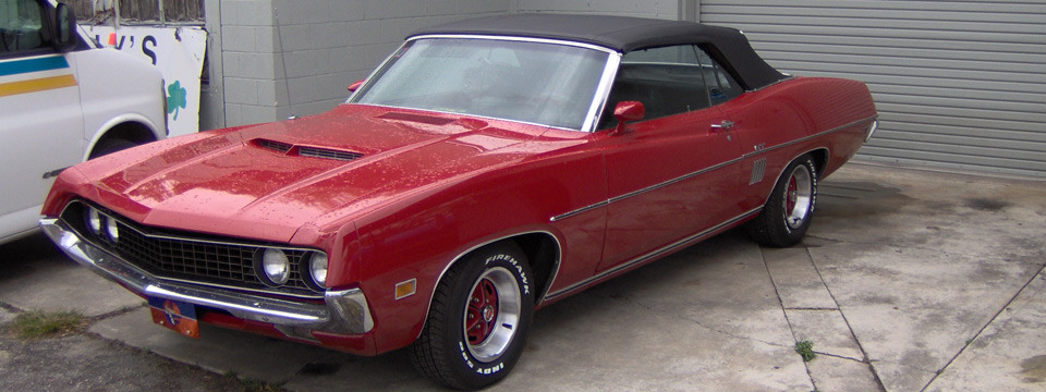 Muscle Car Convertible Repair