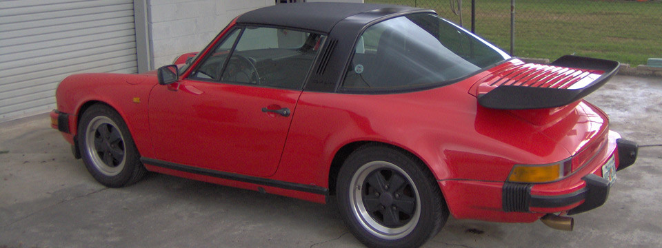 Targa Top Repair